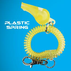 Spring with whistle and clip series
