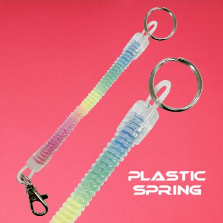 Rainbow spring with O ring and swivel hook